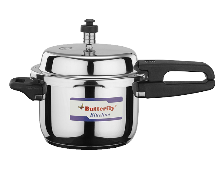 Pressure Cooker Stainless Steel Blueline