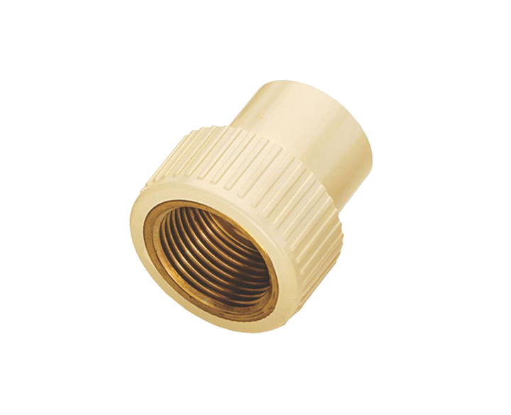 CPVC RFTA Brass Thread
