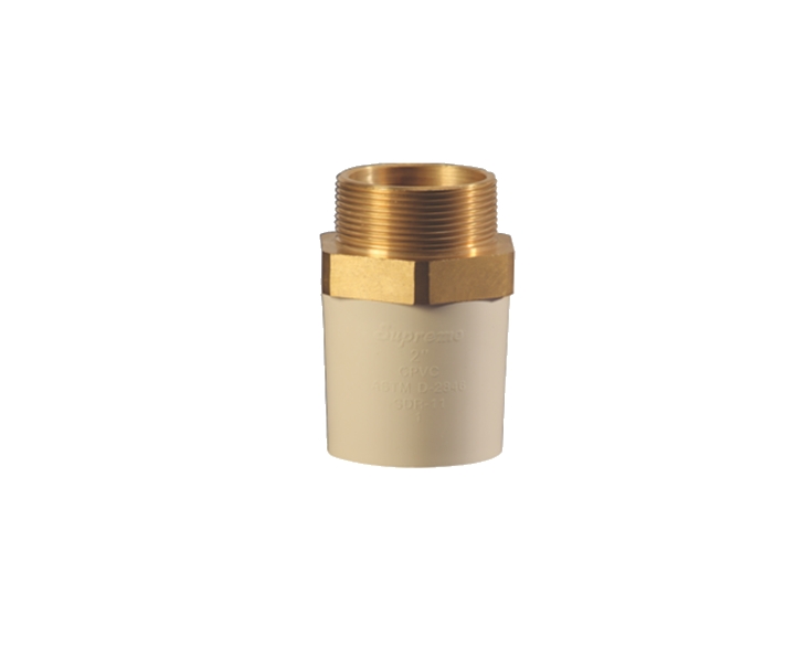 CPVC Reducer MTA Brass Thread