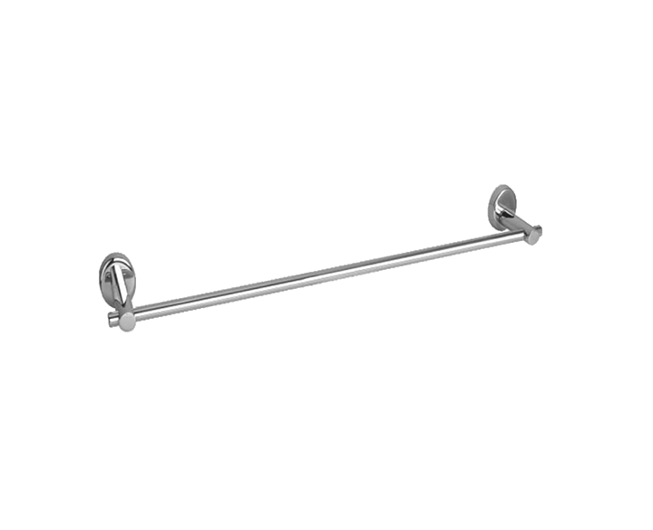 Towel Rod Ovel Glossy 600mm