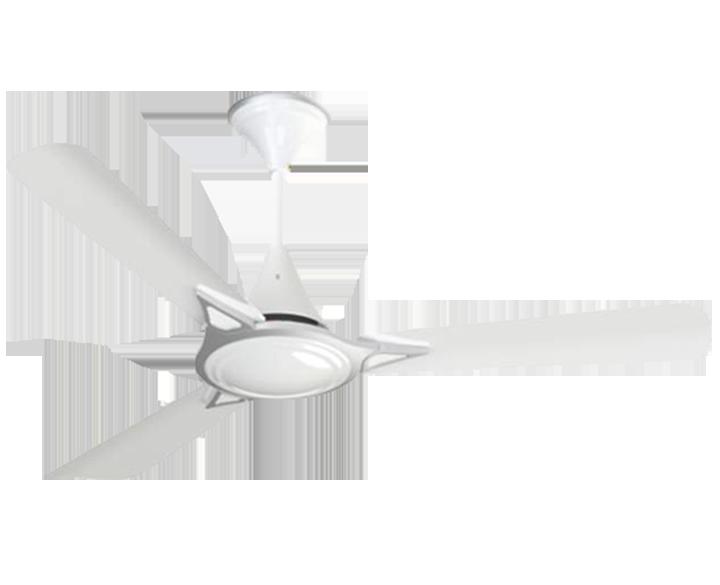 Ceiling Fan Avancer Silver White