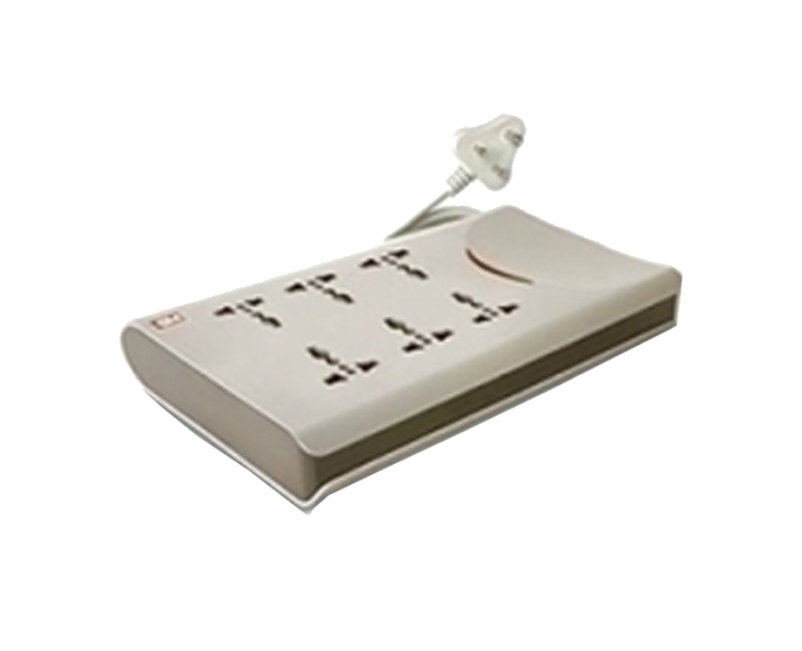 Power Strip 6Way 2mtr 3062