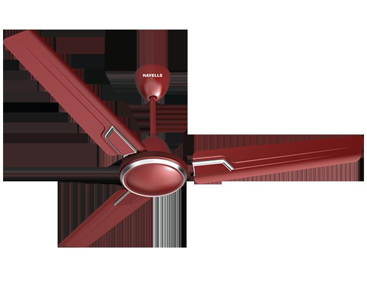 Ceiling Fan Andria Maroon