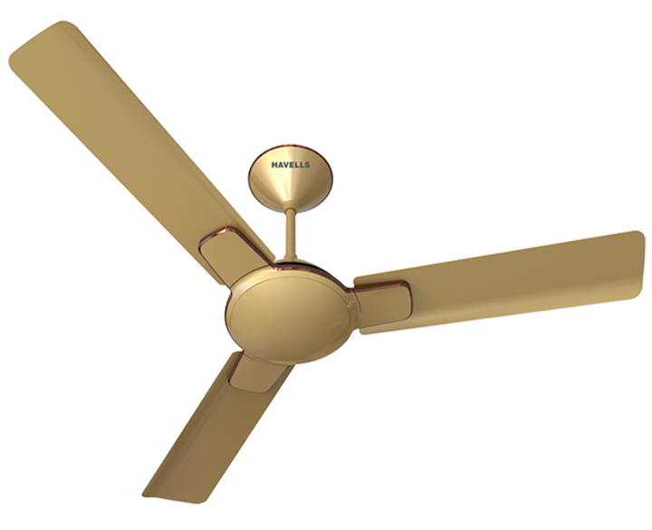 Ceiling Fan Enticer Beige Copper