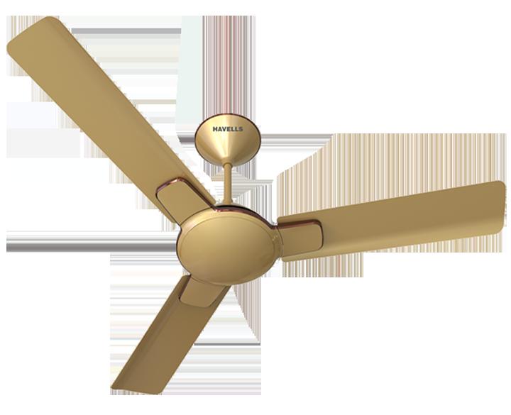 Ceiling Fan Enticer Beige Copper