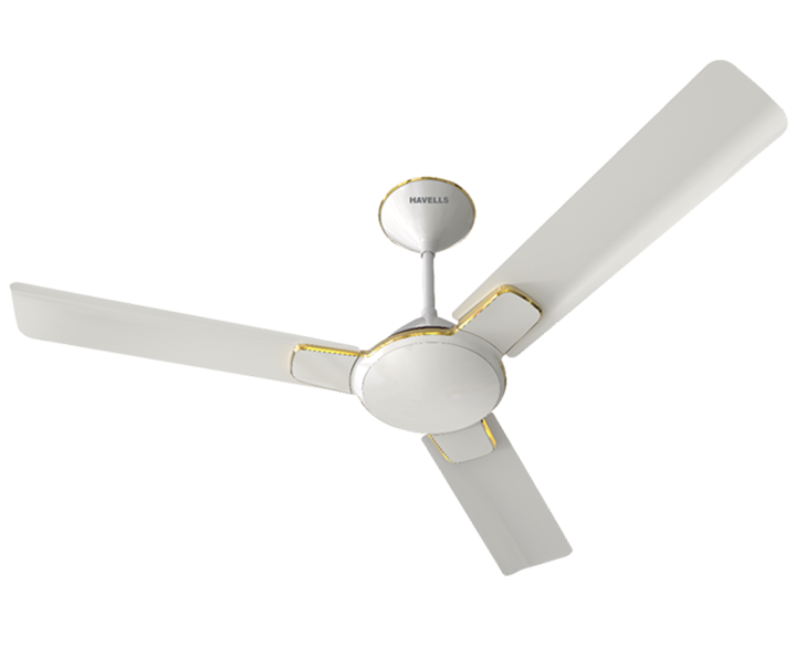 Ceiling Fan Enticer Pearl White Gold