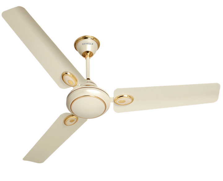 Ceiling fan Fusion Pearl Ivory Gold