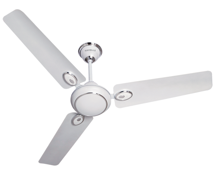 Ceiling fan Fusion Pearl White Silver