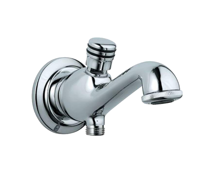 Bath Tub Spout with Button Attachment SPJ-CHR-7463