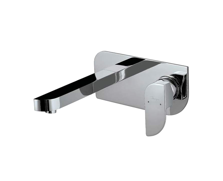 Exposed Part Kit Of Single Lever Basin Mixer Wall Mounted ALI-CHR-85233K