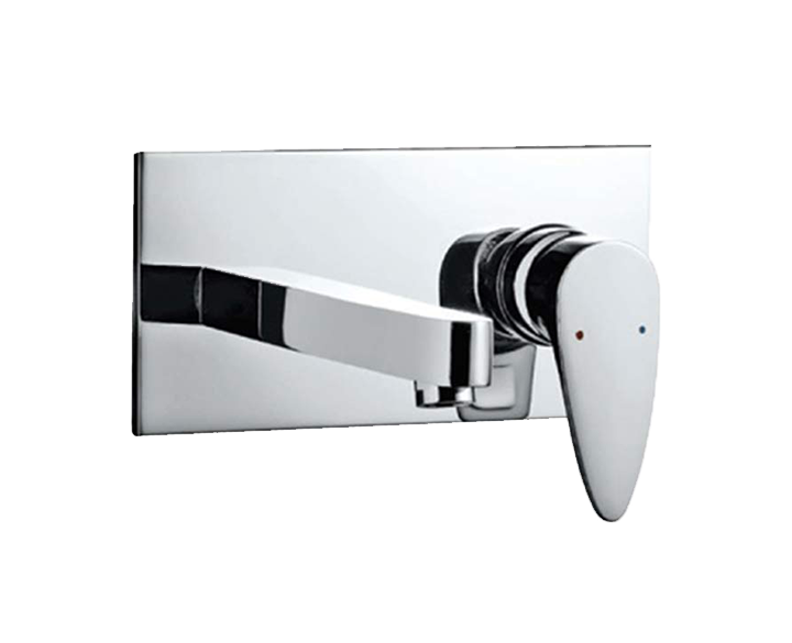 Exposed Part Kit Of Single Lever Basin Mixer Wall Mounted VGP-CHR-81233K