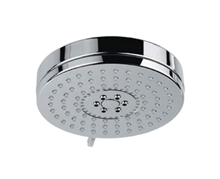 Overhead Shower 105mm Round Shape Multi Flow OHS-CHR-1719