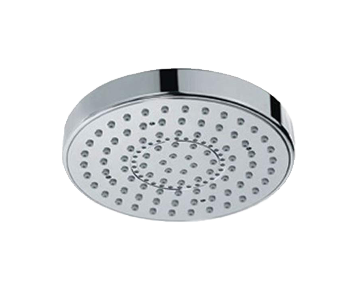 Overhead Shower 105mm Round Shape Single Flow OHS-CHR-1709