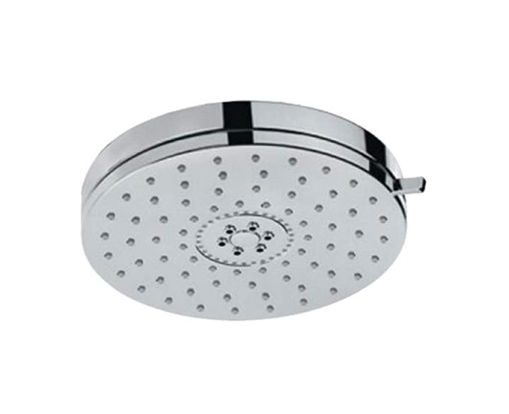 Overhead Shower 140mm Round Shape Multi Flow OHS-CHR-1769