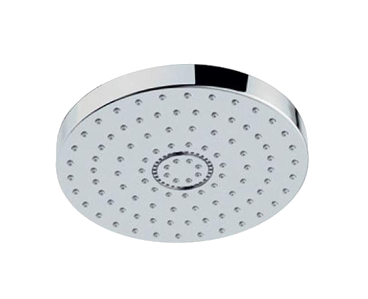 Overhead Shower 180mm Round Shape Single Flow OHS-CHR-1755