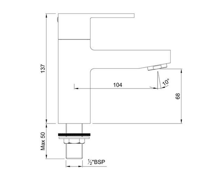 Pillar Cock FUS-CHR-29001