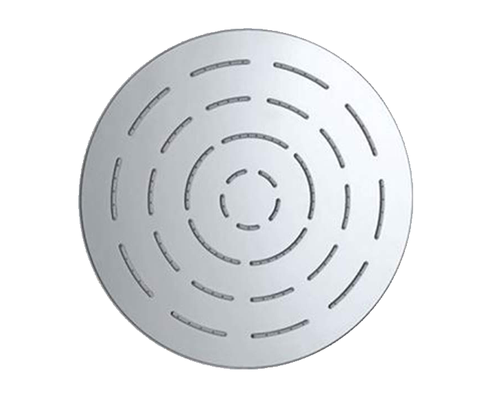 Round Shape Single Flow Maze Overhead Shower OHS-CHR-1603