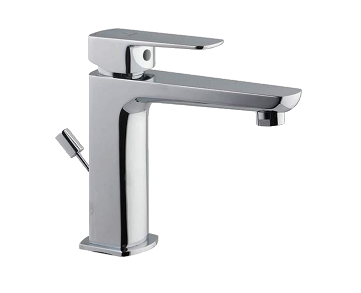Single Lever Basin Mixer with Popup Waste KUP-CHR-35051BPM