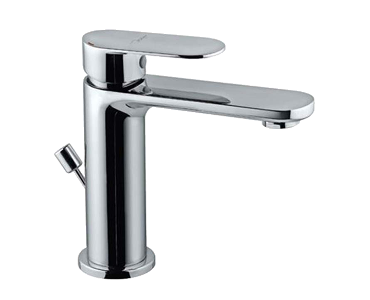 Single Lever Basin Mixer with Popup Waste OPP-CHR-15051BPM