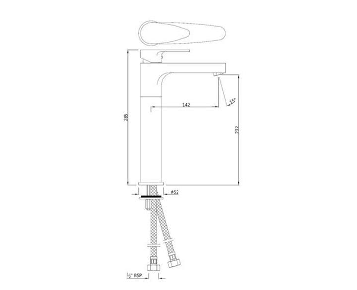 Single Lever Tall Boy VGP-CHR-81005NB