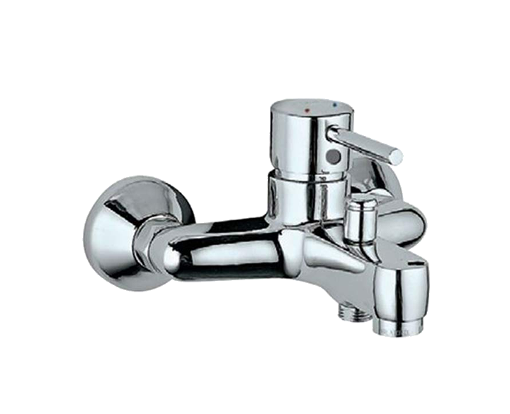 Single Lever Wall Mixer FLR-CHR-5119