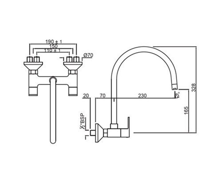 Sink MixerLYR-CHR-38309