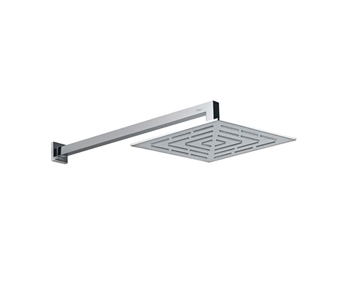 Square Shape Single Flow Maze Overhead Shower OHS-CHR-1639