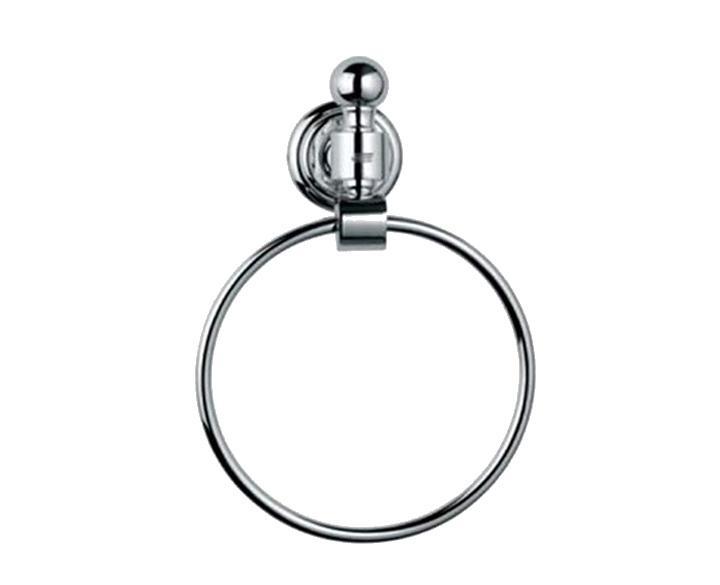Towel Ring Round AQN-CHR-7721