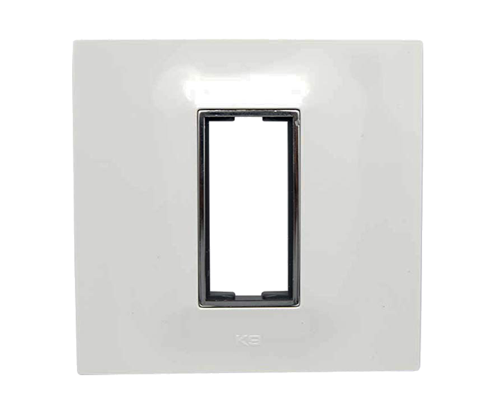 Plate 1 Module Plate Silverline