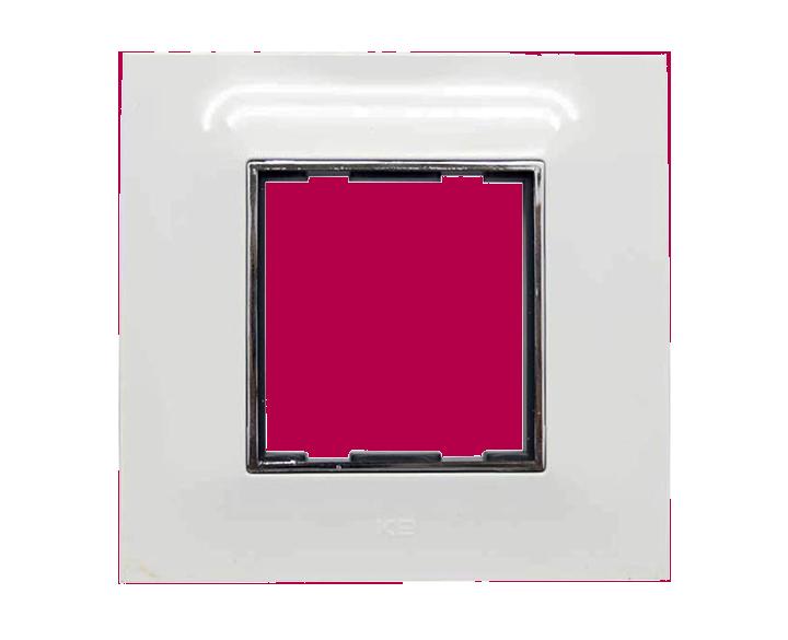 Plate 2 Module Plate Silverline