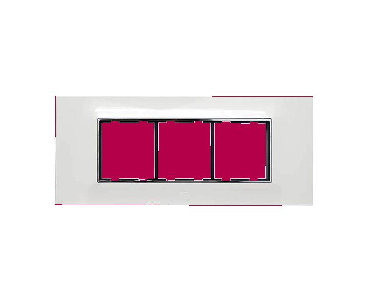 Plate 6 Module Plate Silverline