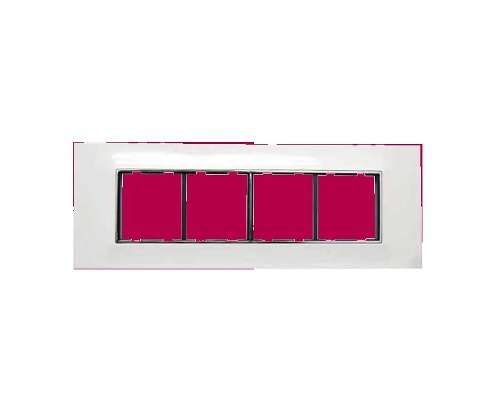 Plate 8 Module Plate Silverline