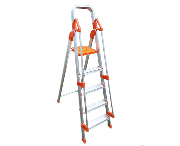 Kitchen Ladder 5 Step with Holding Bar
