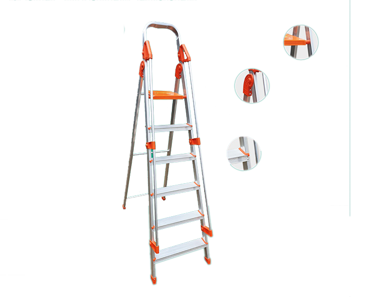 Kitchen Ladder 6 Step with Holding Bar