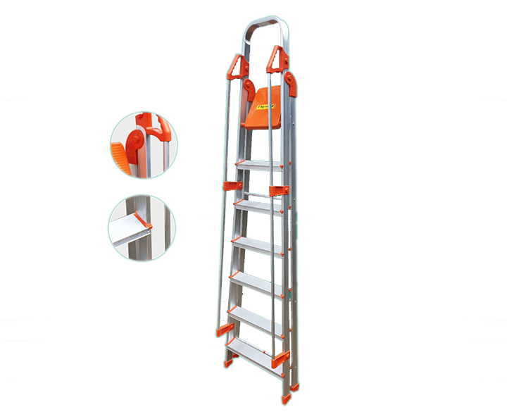 Kitchen Ladder 7 Step with Holding Bar
