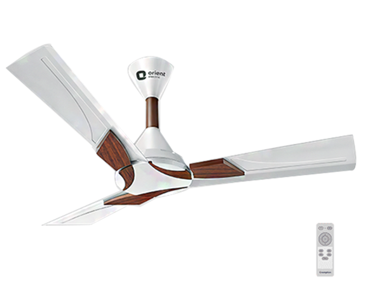 Ceiling Fan Wendy Pearl White Walnut