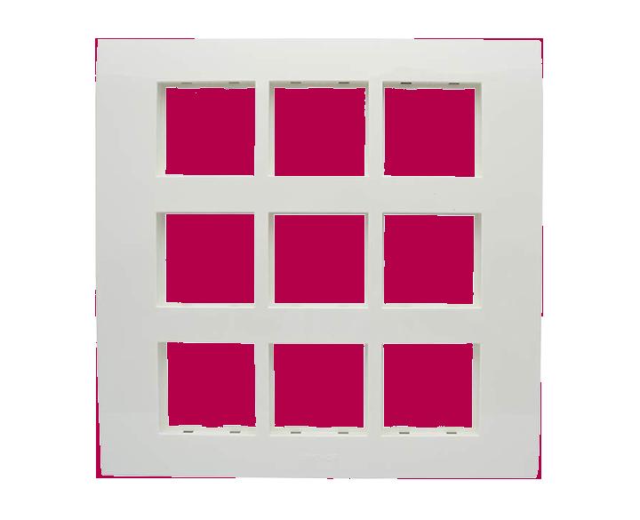 18 Module Plate